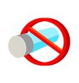 icon cigarette vector image