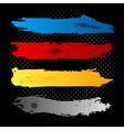 Grunge Ink Banners Set vector image