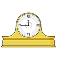 mantel clock vector image