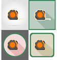 Repair tools flat icons 08 vector image