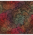 Vintage seamless abstract floral pattern vector image
