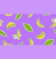 hand drawn bananas vector image