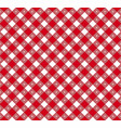 gingham and buffalo check plaid pattern vector image