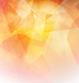 low poly background 0410 vector image vector image