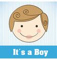 child head sticker vector image