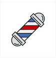 barbershop element icon on white vector image