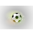 football abstract ball vector image vector image
