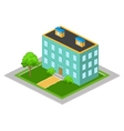 Isometric Big House vector image