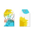 Creative tag with inspiration typography saying vector image