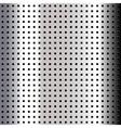 Chrome metallic background vector image