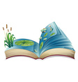 River book vector image vector image