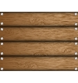 Realistic wood texture vector image