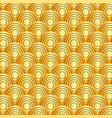 seamless rounded lines geometric patterns vector image