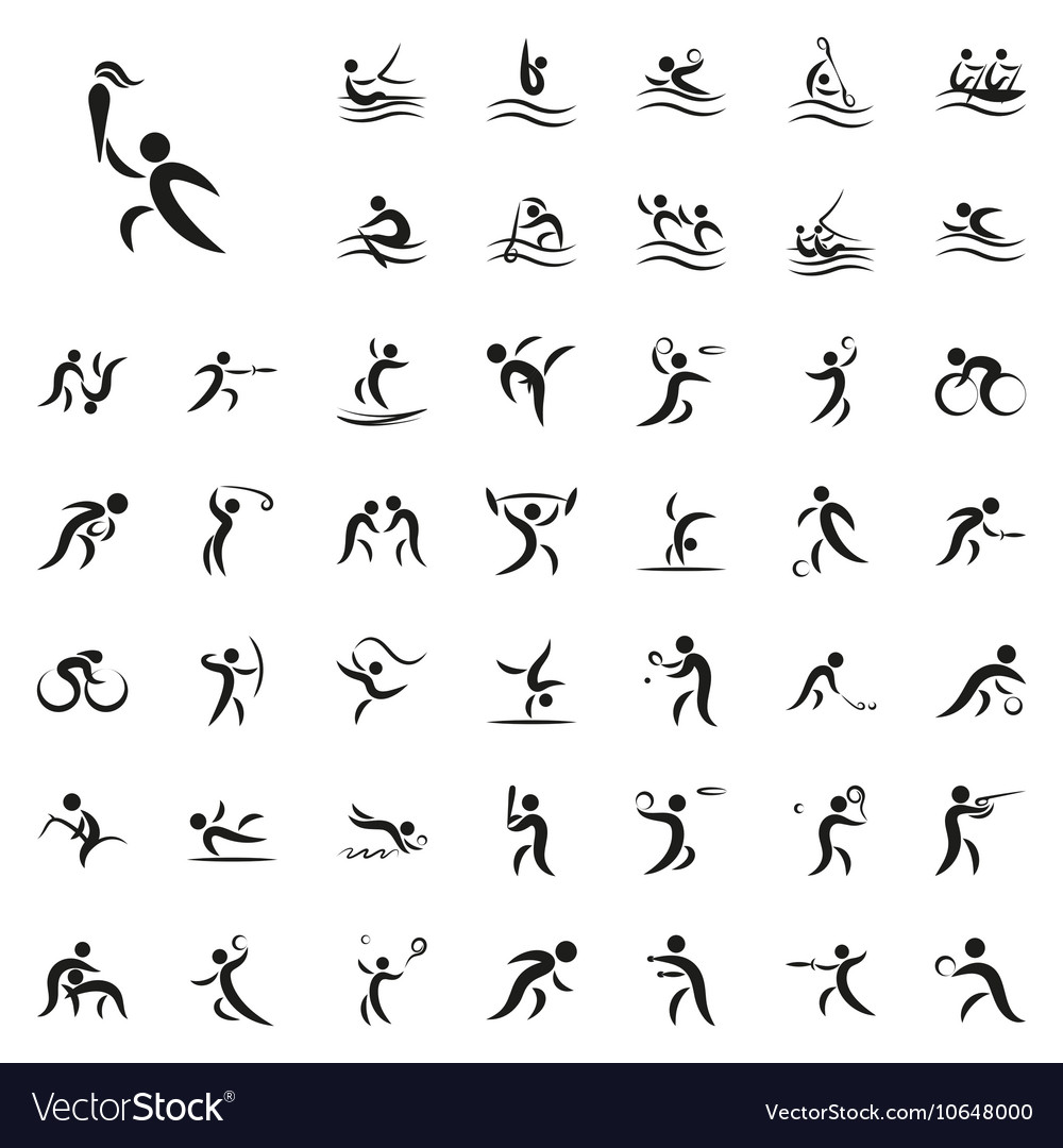 Summer sport games vector