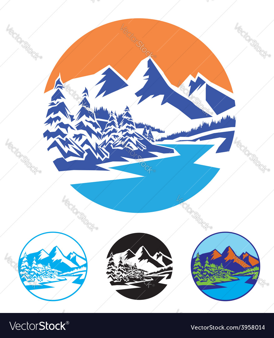 Symbol of nature vector
