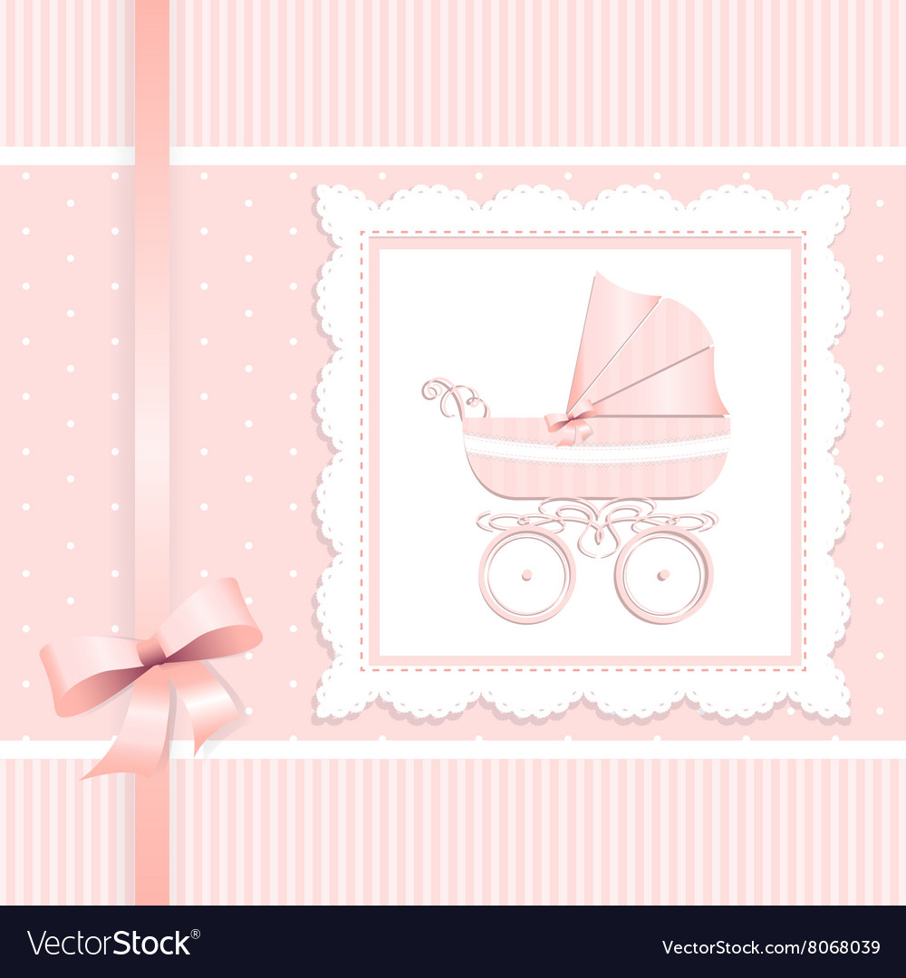 Cute card design baby shower mothers day vector