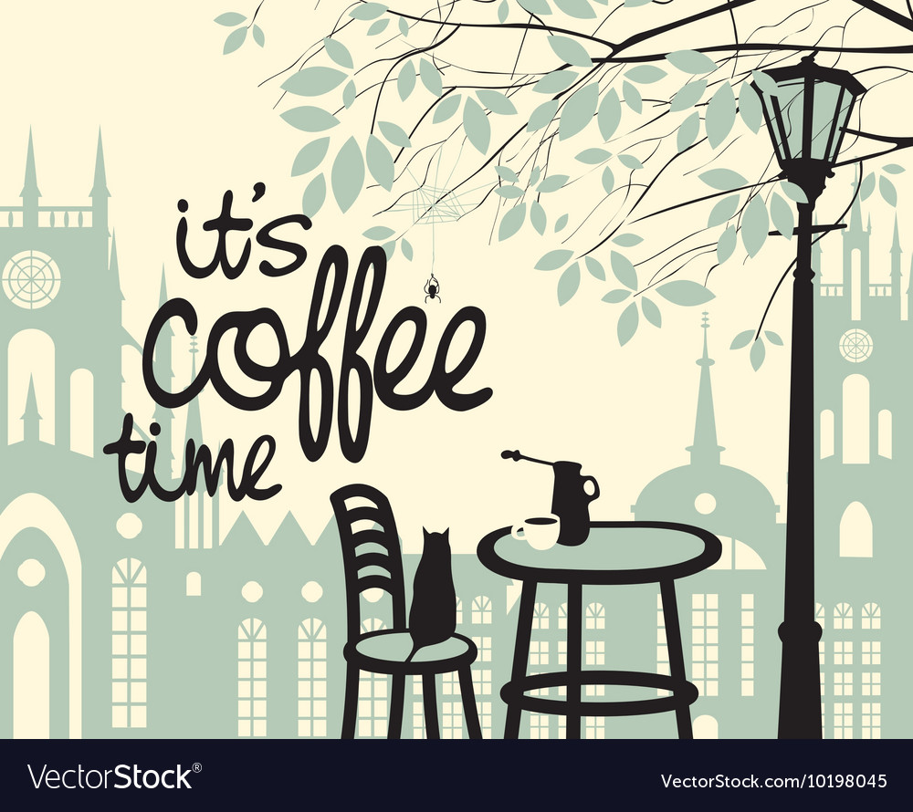 Is the coffee time vector