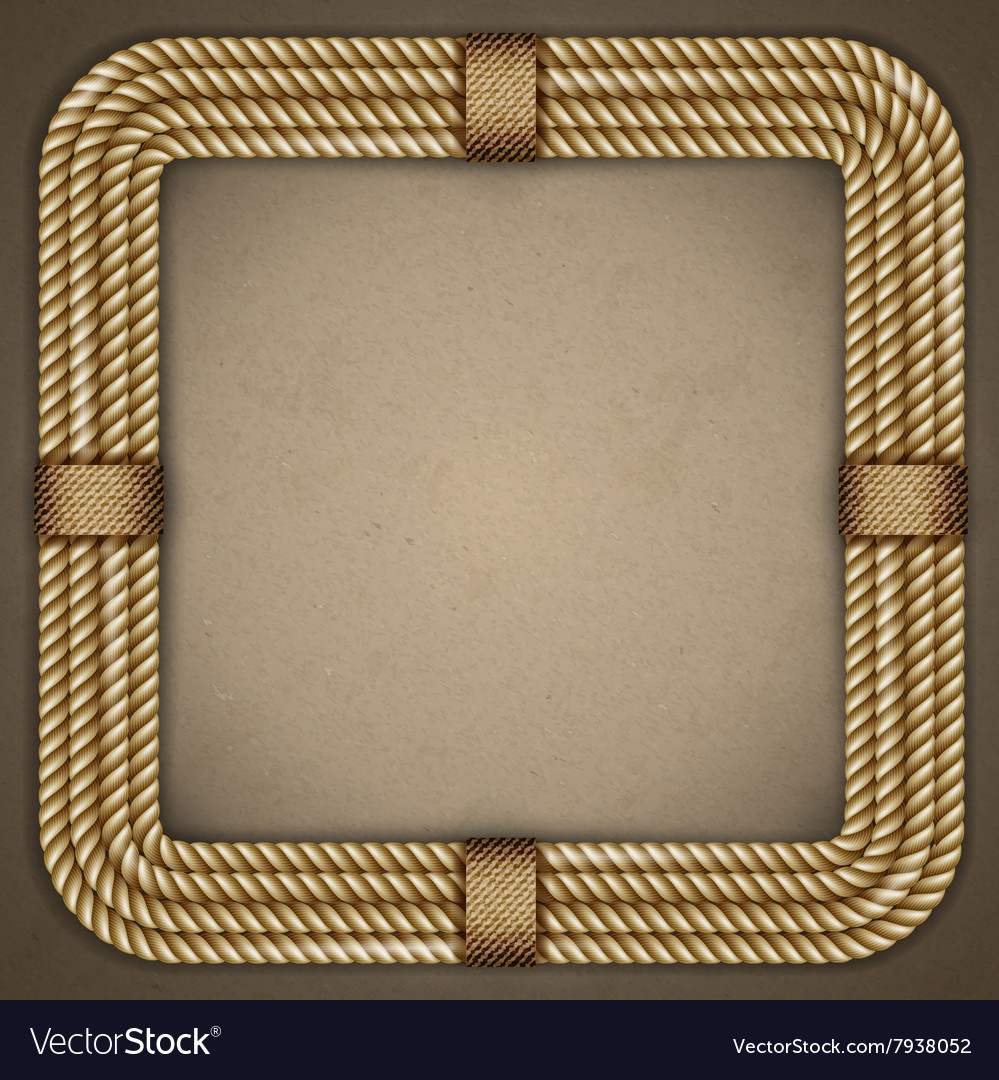 Frame the old paper background vector