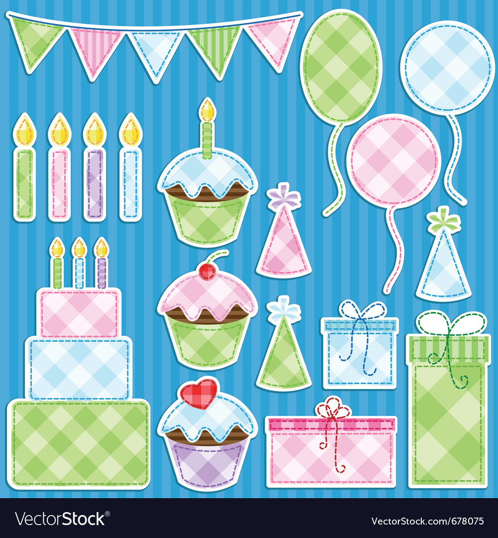 Birthday party vector