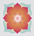 Flower of Life design vector image vector image