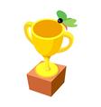 icon trophy vector image vector image