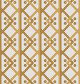 rhombs pattern beige palette vector image