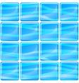 blue tiles texture seamless vector image