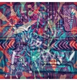 Design for square pocket shawl textile Abstract vector image