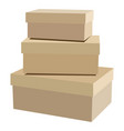 package box set vector image