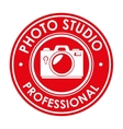 photo studio professional emblem design graphic vector image