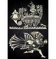 Mexico and Peru native art vector image
