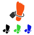 mortuary tag flat icon vector image