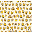 bee paper vector image vector image