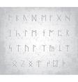 Runes vector image