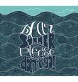 dear summer please do not go lettering vector image