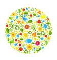 Eco Ball vector image