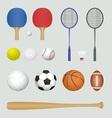 Sport tools vector image