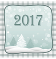 banner new year 2017 vector image