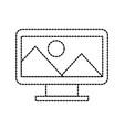 design graphic picture screen image icon vector image