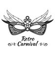 Carnival background poster flayer vector image