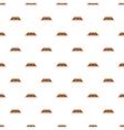 Carpet pattern cartoon style vector image