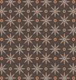 Javanese floral pattern vector image vector image