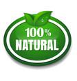 nature tag vector image