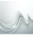 Gray abstract wave vector image