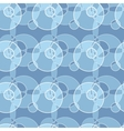 Seamless pattern made of circle background vector image