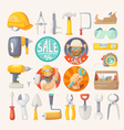 Collection of tools for house remodeling vector image