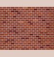 red brick wall seamless vector image