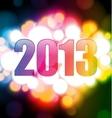 Happy new year 2013 vector image