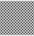 black circles on a white background seamless vector image
