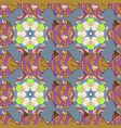 sea fishes on gray colored background tropical vector image